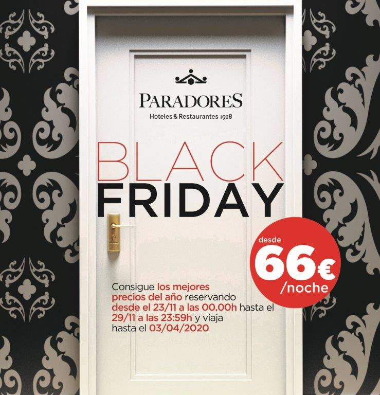 Paradores Black Friday 2019